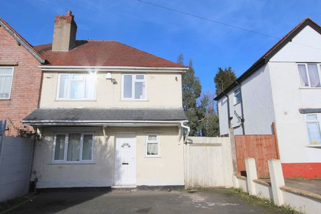 Thumbnail Semi-detached house to rent in Smithfield Road, Bloxwich, Walsall