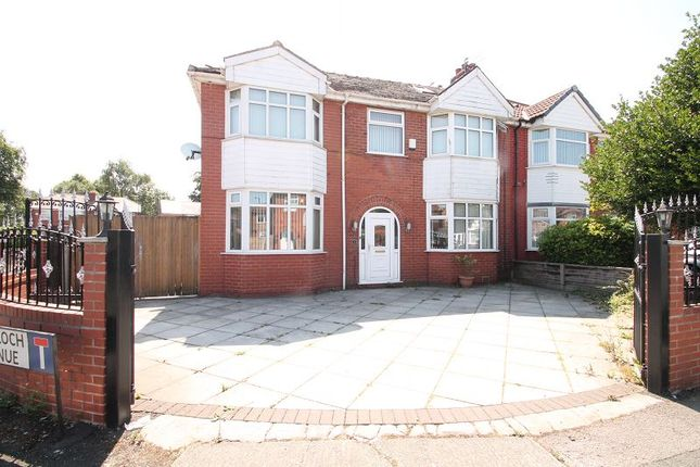 Thumbnail Semi-detached house to rent in Gairloch Avenue, Stretford, Manchester