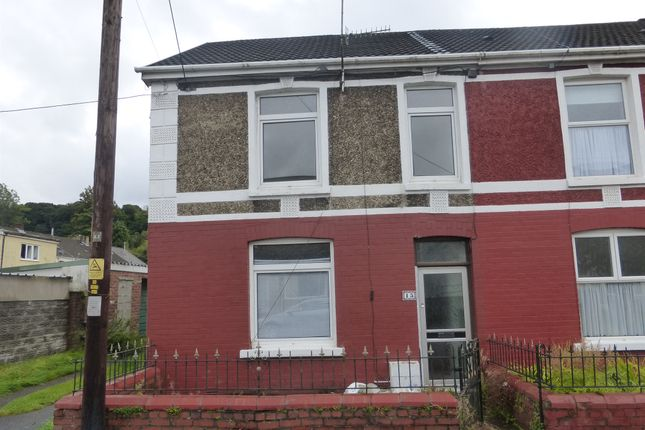 Thumbnail End terrace house for sale in Edward Street, Glynneath, Neath
