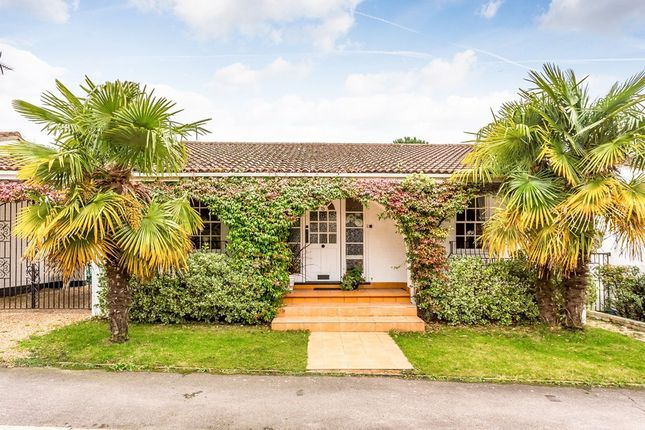Thumbnail Detached bungalow for sale in The Hollow, Woodford Green