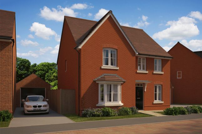 "Thumbnail Detached house for sale in ""Holden"" at The Walk, Withington, Hereford"