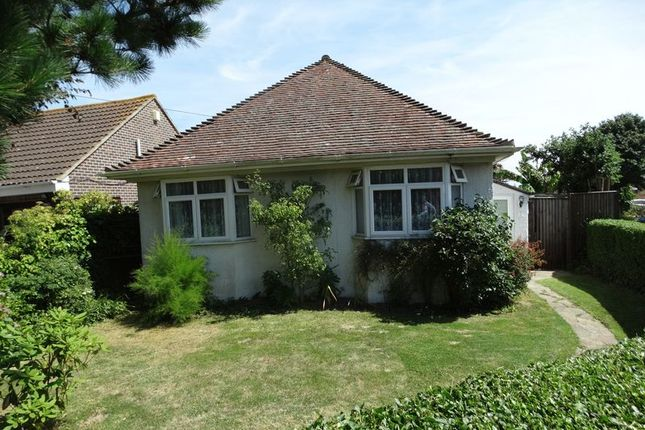 Thumbnail Detached bungalow for sale in Manor Lane, Selsey, Chichester