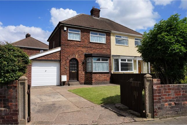 Thumbnail Semi-detached house for sale in Davenport Drive, Cleethorpes
