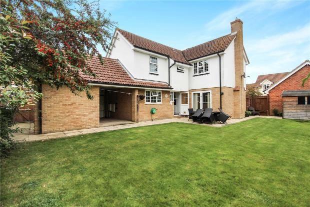 Thumbnail Detached house for sale in Lonsdale, Linton, Cambridge