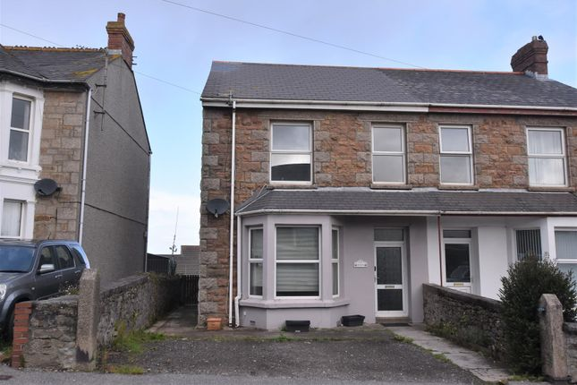 Thumbnail Semi-detached house for sale in Mount Ambrose, Redruth