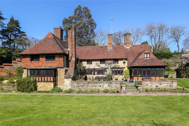 Thumbnail Detached house for sale in Petworth Road, Wormley, Godalming, Surrey