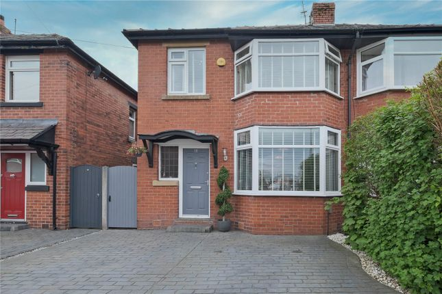 Thumbnail Semi-detached house for sale in Spring Grove, Whitefield, Manchester, Greater Manchester