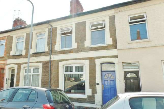 Thumbnail Terraced house for sale in Cyfarthfa Street, Roath, Cardiff