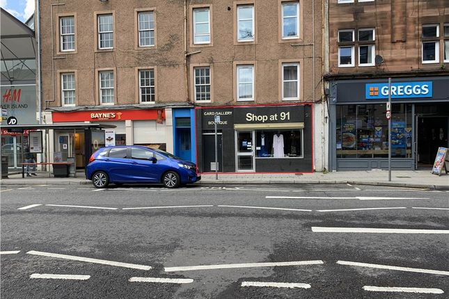 Thumbnail Retail premises for sale in 91 South Street, Perth, Perth And Kinross