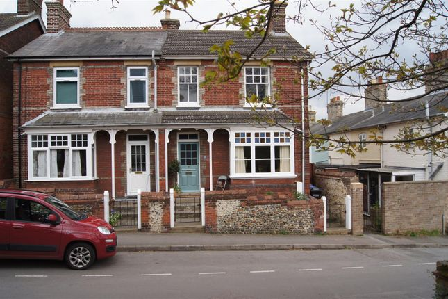 Thumbnail Semi-detached house for sale in Mill Road, Bury St. Edmunds