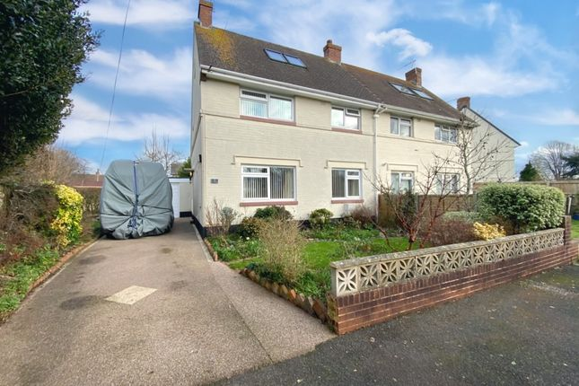 4 bed semi-detached house for sale in Sunhill Avenue, Topsham, Exeter EX3