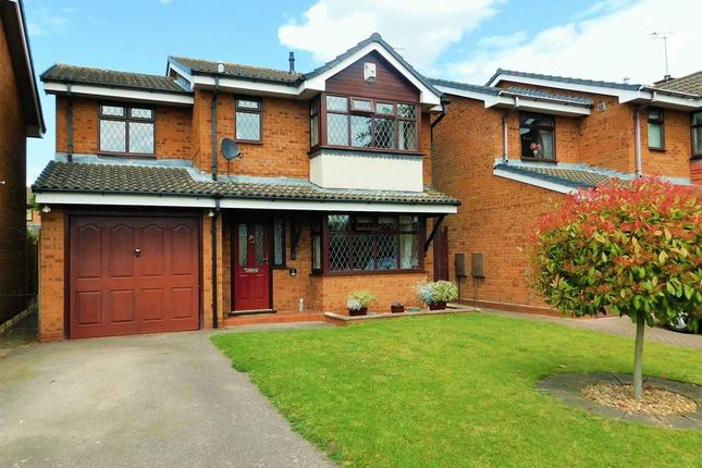 Thumbnail Detached house for sale in Boyden Close, Penkridge, Stafford