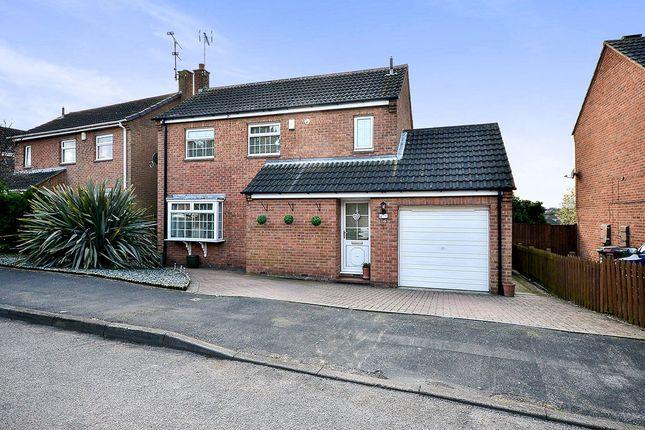Thumbnail Detached house for sale in Gordon Crescent, Broadmeadows, South Normanton, Alfreton
