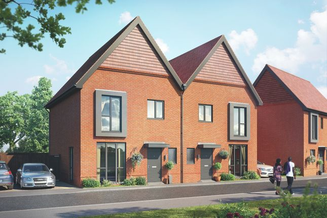 3 bed semi-detached house for sale in Plot 157, Crowthorne RG45