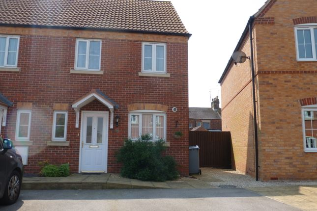 Thumbnail End terrace house for sale in Thistle Gardens, Spalding