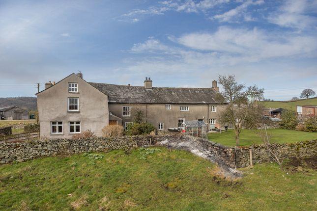 Thumbnail Farmhouse for sale in Fallen Yew, Underbarrow, Kendal, Cumbria