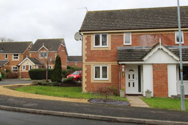 Thumbnail End terrace house to rent in Willowbank, Chippenham, Wiltshire
