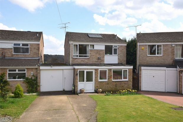 Thumbnail Link-detached house for sale in Warren Rise, Frimley, Camberley, Surrey