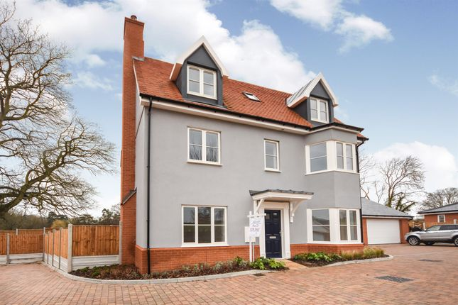 Thumbnail Detached house for sale in The Old Brewery, Ridley Green, Hartford End, Chelmsford