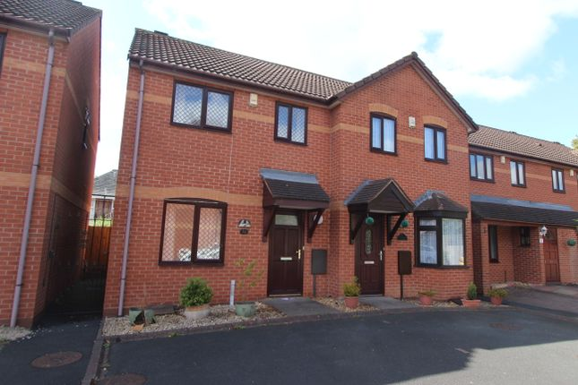 Thumbnail Semi-detached house for sale in Church View Close, Bloxwich, Walsall