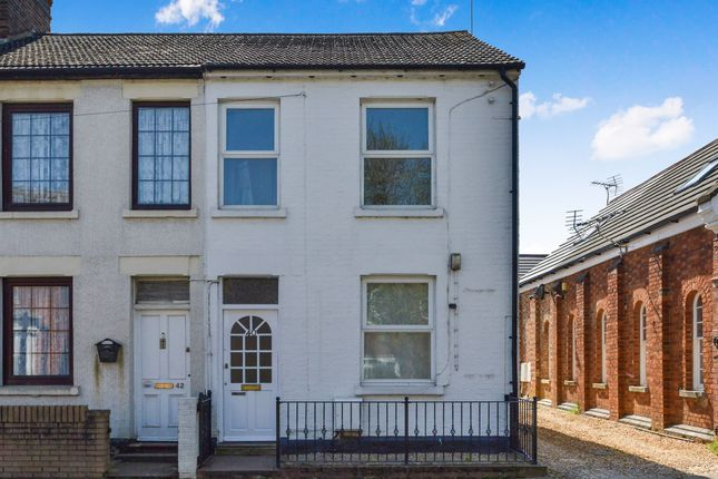 Thumbnail End terrace house for sale in Church Street, Bletchley, Milton Keynes