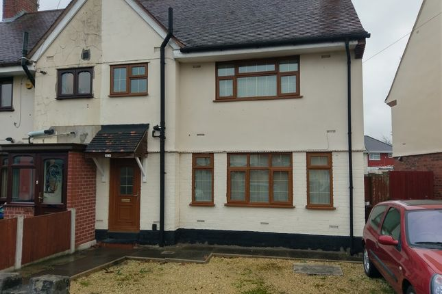 Thumbnail Semi-detached house to rent in St Anne's Road, Wolverhampton