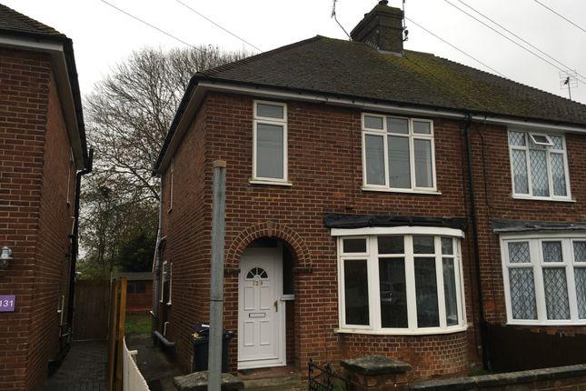 Thumbnail Semi-detached house for sale in Cudworth Road, Ashford, England United Kingdom