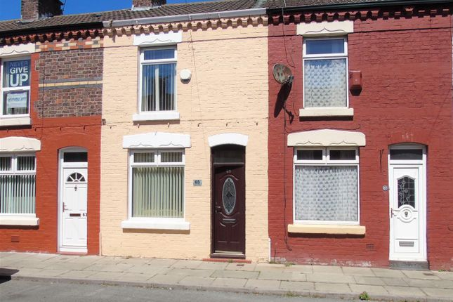 Front of Ismay Street, Walton, Liverpool L4