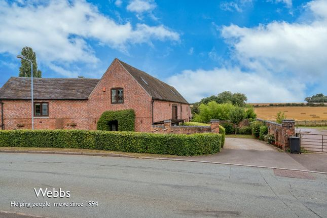 Thumbnail Barn conversion for sale in Back Lane, Whittington, Lichfield