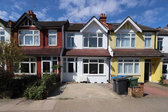 Thumbnail Terraced house to rent in Beverley Road, New Malden