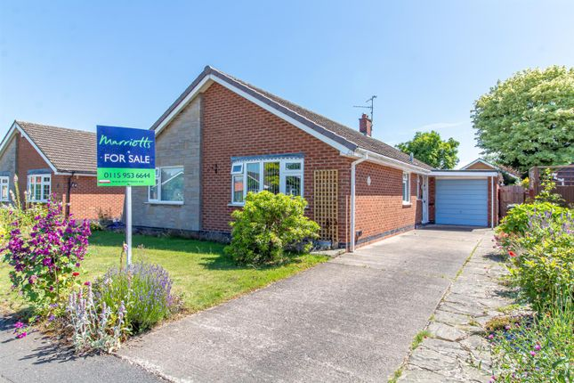 Thumbnail Detached bungalow for sale in Pinfold Close, Woodborough, Nottingham
