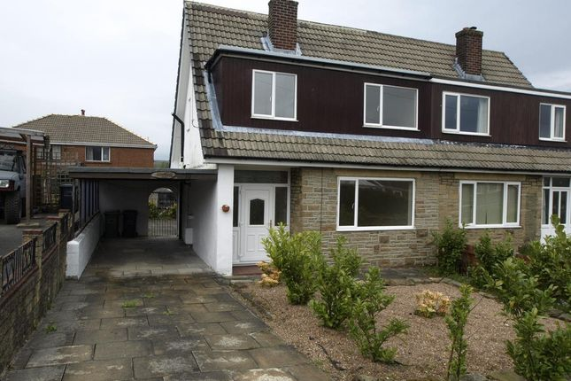 Thumbnail Semi-detached house to rent in Bracewell Road, Meltham, Holmfirth