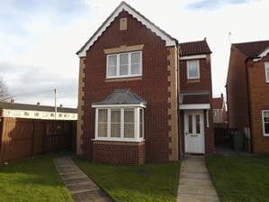 Thumbnail Detached house for sale in Parkside Court, Ashington