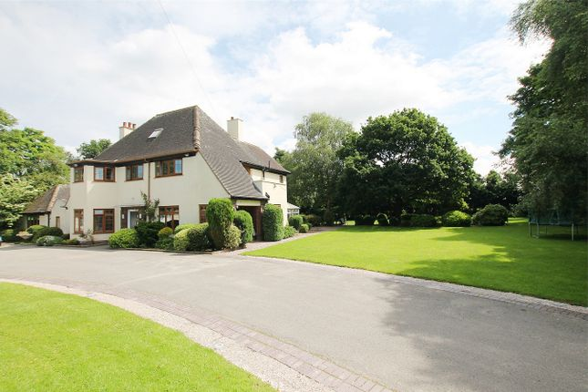 Thumbnail Detached house for sale in Ballinacross, Warrington Road, Cheshire
