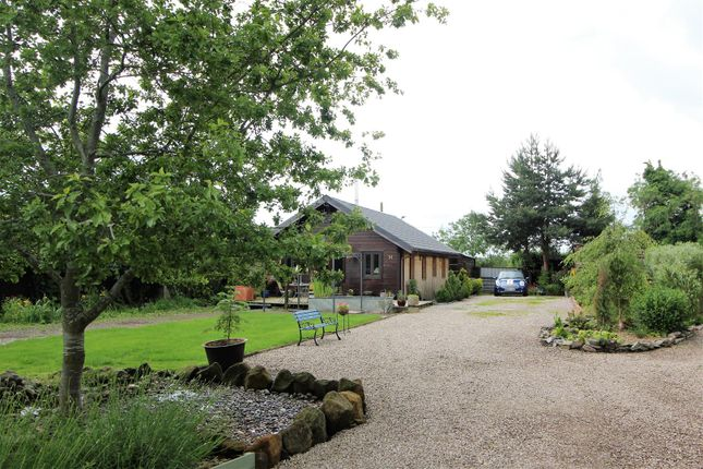 Thumbnail Lodge for sale in Edgerley, Oswestry