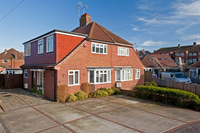 Thumbnail Semi-detached house for sale in Bruce Avenue, Goring-By-Sea, Worthing