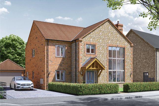 Thumbnail Detached house for sale in Plot 12, 6 Crickets Drive, Nettleham