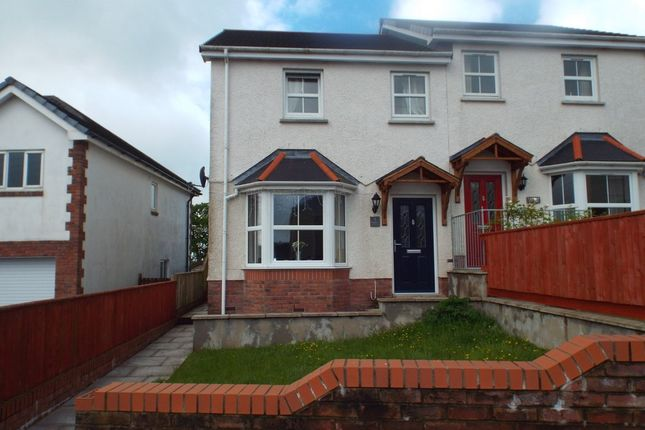 3 bed semi-detached house for sale in Bancffosfelen, Llanelli
