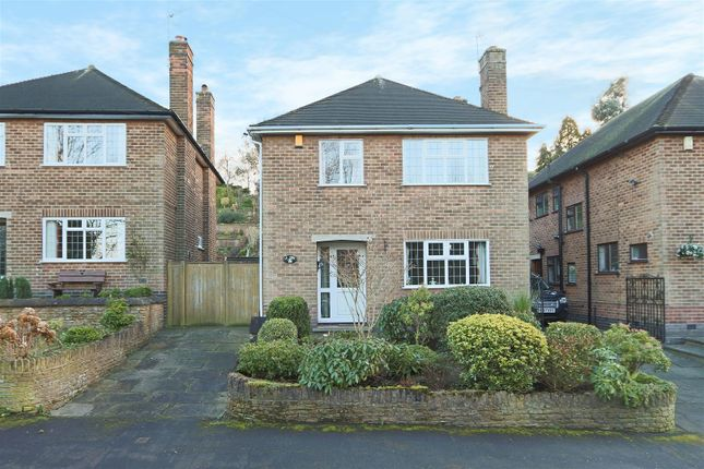 Thumbnail Detached house for sale in Cresta Gardens, Sherwood, Nottingham