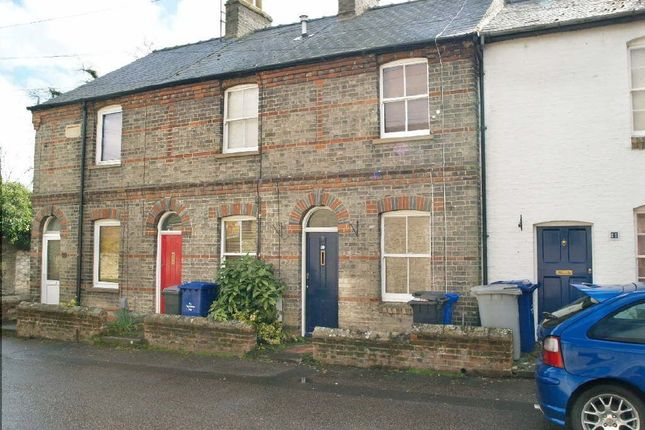 Thumbnail Terraced house to rent in Chapel Street, Exning, Newmarket