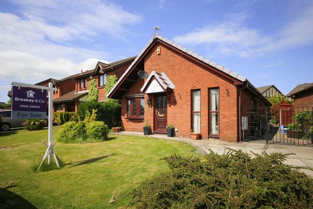Thumbnail Detached bungalow for sale in Cranstal Drive, Hindley Green, Wigan