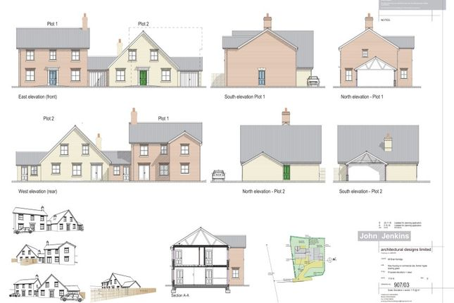 Thumbnail Land for sale in Staithe Road, Burgh St. Peter, Beccles