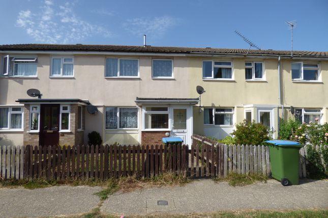 Thumbnail Terraced house to rent in Joyce Close, Wick, Littlehampton