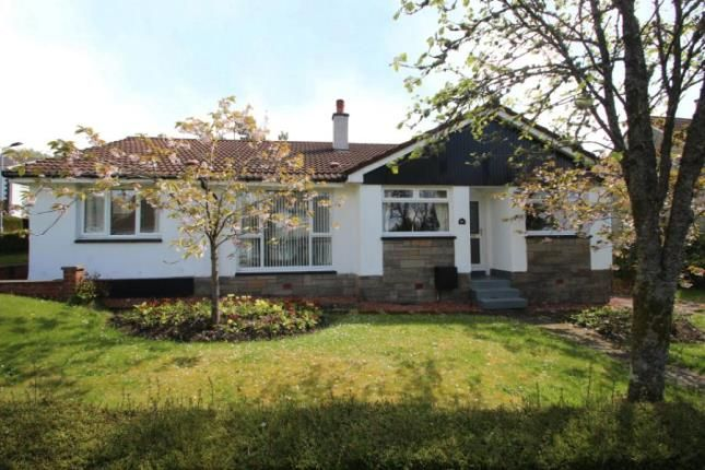 Thumbnail Bungalow for sale in Duncan Road, Helensburgh, Argyll And Bute
