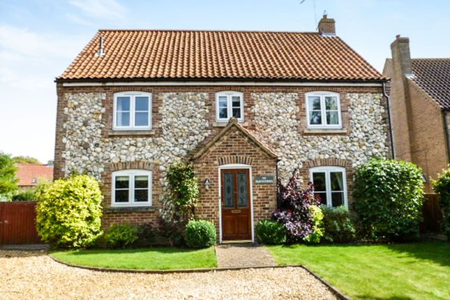 Thumbnail Detached house for sale in Wretton Road, Boughton, King's Lynn