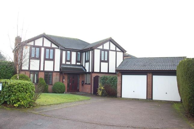 Thumbnail Detached house to rent in Northumberland Avenue, Market Bosworth, Nuneaton