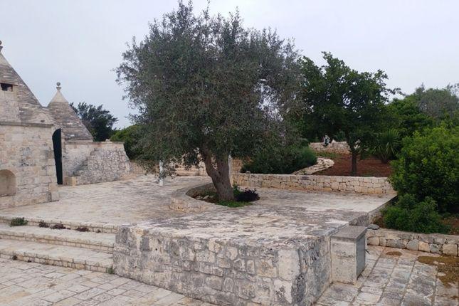 External of Trullo Povia, Ostuni, Puglia, Italy