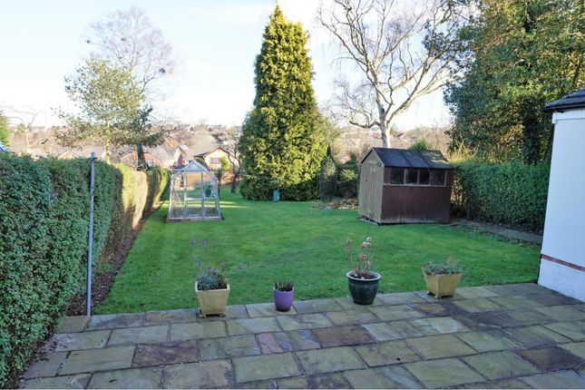 Rear Garden of Fluin Lane, Frodsham WA6