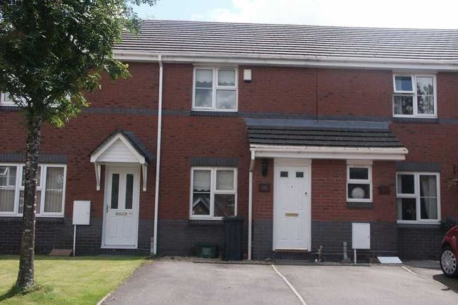 Thumbnail Terraced house to rent in Fernlea Park, Bryncoch, Neath .