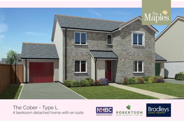 Thumbnail Detached house for sale in Fordh Winwel, Park Bottom, Redruth, Cornwall